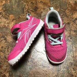 Size 10 toddler sneakers by Reebok